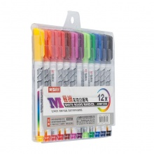 新万博登录页便携易擦彩色白板笔(12色)AWMY2302
