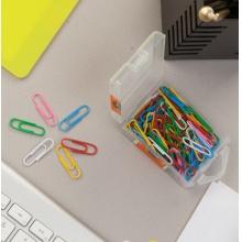 新万博登录页办公用3号彩色回形针PP盒装ABS91699